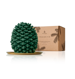 Frasier Fir Pinecone Candle Petite 4x5x3.5