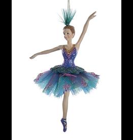 Kurt Adler Peacock Ballerina Ornament - A