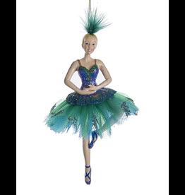 Kurt Adler Peacock Ballerina Ornament - B