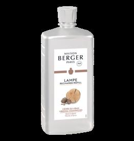 Lampe Berger Oil Liquid Fragrance Liter Virginia Cedar Wood Maison Berger