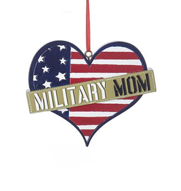 Kurt Adler Military Sign Ornament - Military Mom