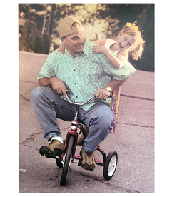 Fathers Day Card Goodwin Joyride Dad w Daughter on Bike