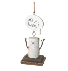 Midwest-CBK Smores Ornament Lets Get Toasted