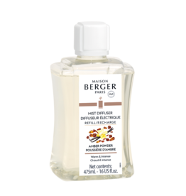 Maison Berger Mist Diffuser Fragrance 475ml Refill Amber Powder