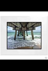 Maureen Terrien Photography Art Print Pier Lauderdale By The Sea 8x10 - 11x14 Matted