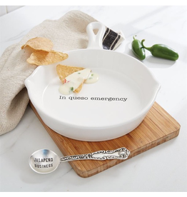 Mud Pie Warming Serving Skillet Set w In Queso Emergency