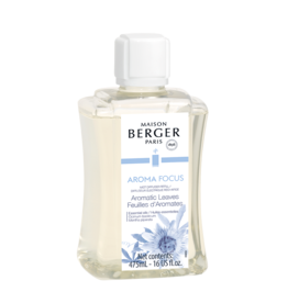 Maison Berger Mist Diffuser Fragrance 475ml Refill Aroma Focus Aromatic Leaves