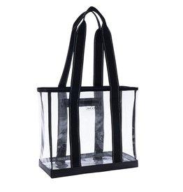Scout Bags Mini Deano Clear Tote Bag - Black