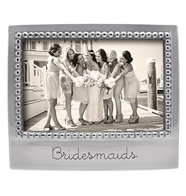 Mariposa Engraved 4x6 Photo Picture Frame w Bridesmaids