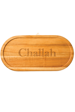 Maple Leaf At Home Artisan Oval Bread Board 20x9 inches - Challah