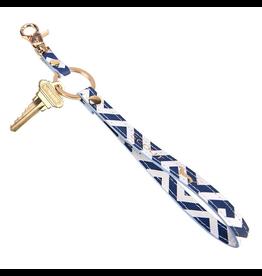 Scout Bags Keychain Key Ring - Bid Day Blue