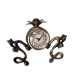 Luna Bella Designs Parker Table Clock Handmade Modern Eclectic Chic