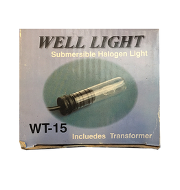 Expo Well Light Submersible Halogen Light w Transformer