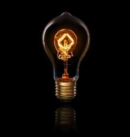 Cleveland Vintage Lighting Edison Style Up-Down Filament 40W 120V E26