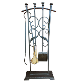 SPI Home Classical Fireplace Tool Set 3pc w Stand