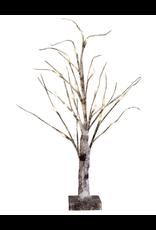 Darice Birch Tree Natural w WW LED Lights 24 inch Holiday Display Tree