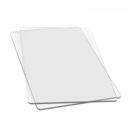 Accessory Die Cutting Pads -Standard 9x6 inch 1 Pair Clear