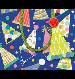 Caspari Gift Bag Party Hats SM 5.25x2.5x4.25