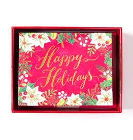 PAPYRUS® Boxed Christmas Cards Lovely Happy Holidays 20pk