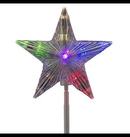 Kurt Adler Rotating Star Pinwheel Pathway Marker LED 6 Light