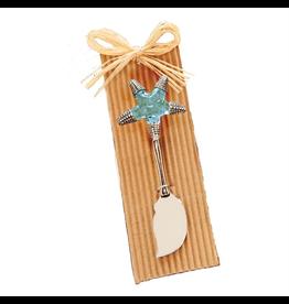 Mud Pie Mini Spreader w Glass Bead n Metal Sea Life Starfish