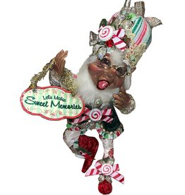 Mark Roberts Fairies Elves Black American Candy Maker Elf SM 10 Inch