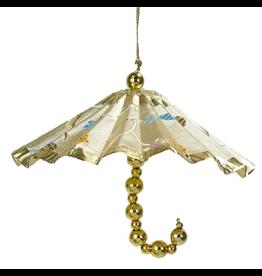 Kurt Adler Christmas Ornament Oriental Asian Parasol Umbrella
