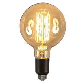 Oversize Vintage Style Light Bulb 60W E26 G150F2 6X11in