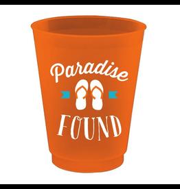 Slant Plastic Flex Cups 16oz 8pk F146772 Paridise Found