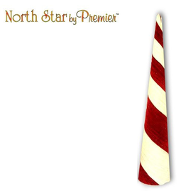 Premier Peppermint Cone 36H Display Christmas Decor