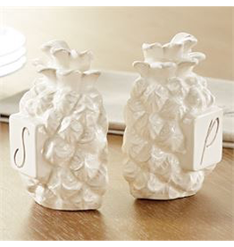 Mud Pie Pineapple Salt And Pepper Shakers Set