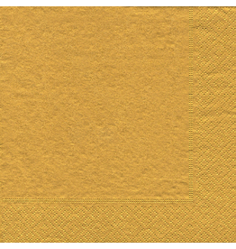 Caspari Paper Dinner Napkins 3510D Gold 20pk