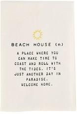 Mud Pie Beach House Hand Towel With Beach House Definition 26x16.5