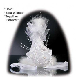 Wedding- Bridal Shower Party Hat - Heres your Hat by Briar Rose