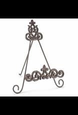 Mud Pie Fleur de Lis Cast Iron Easel for iPad Books Frames