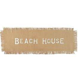 Mud Pie Beach House Just Table Runner 21x72 Inch
