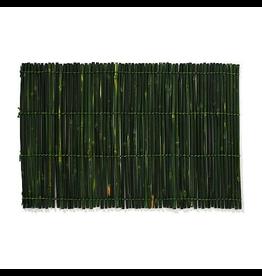 Merritt International Green Bamboo Sticks Placemats Green 13x19