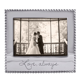 Mariposa Engraved 5x7 Photo Picture Frame 3911LA Love Always