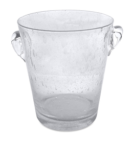 Mariposa Mariposa 531-B Bellini Blown Italian Bubble Glass Ice Bucket Small