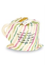 Mud Pie Birthday Mug In Gift Bag I Dont Let My Age Define Me But The