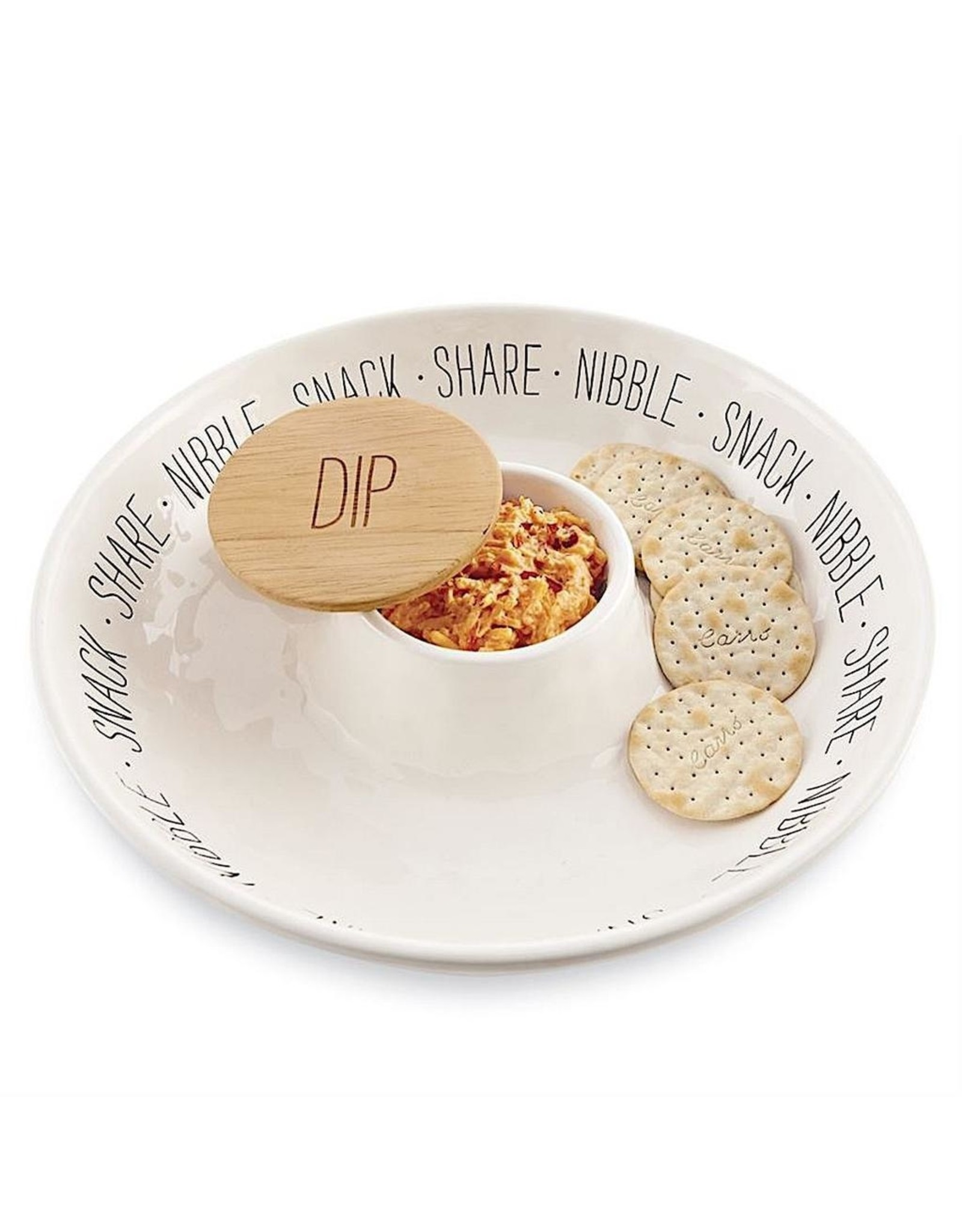 Mud Pie Bistro Snack Chip And Dip 12 Inch Snack Share Nibble Dip