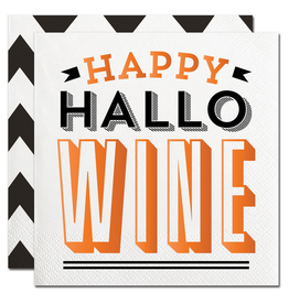 Slant Halloween Cocktail Napkins 20ct Happy Halo Wine F155294 Slant