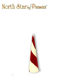 Premier Peppermint Cone 24H Display Christmas Decor
