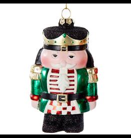 Kurt Adler Christmas Ornament Nutcracker Green