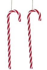 Kurt Adler Candy Canes Hanging Christmas Ornaments Set of 12
