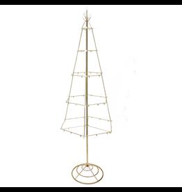 Kurt Adler Ornament Tree Ornament Hanger Gold Metal Floor Ornament Tree 55 Inch