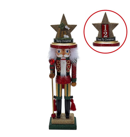 Kurt Adler Christmas Nutcracker Hollywood w Nativity-Days to Christmas Hat 18H