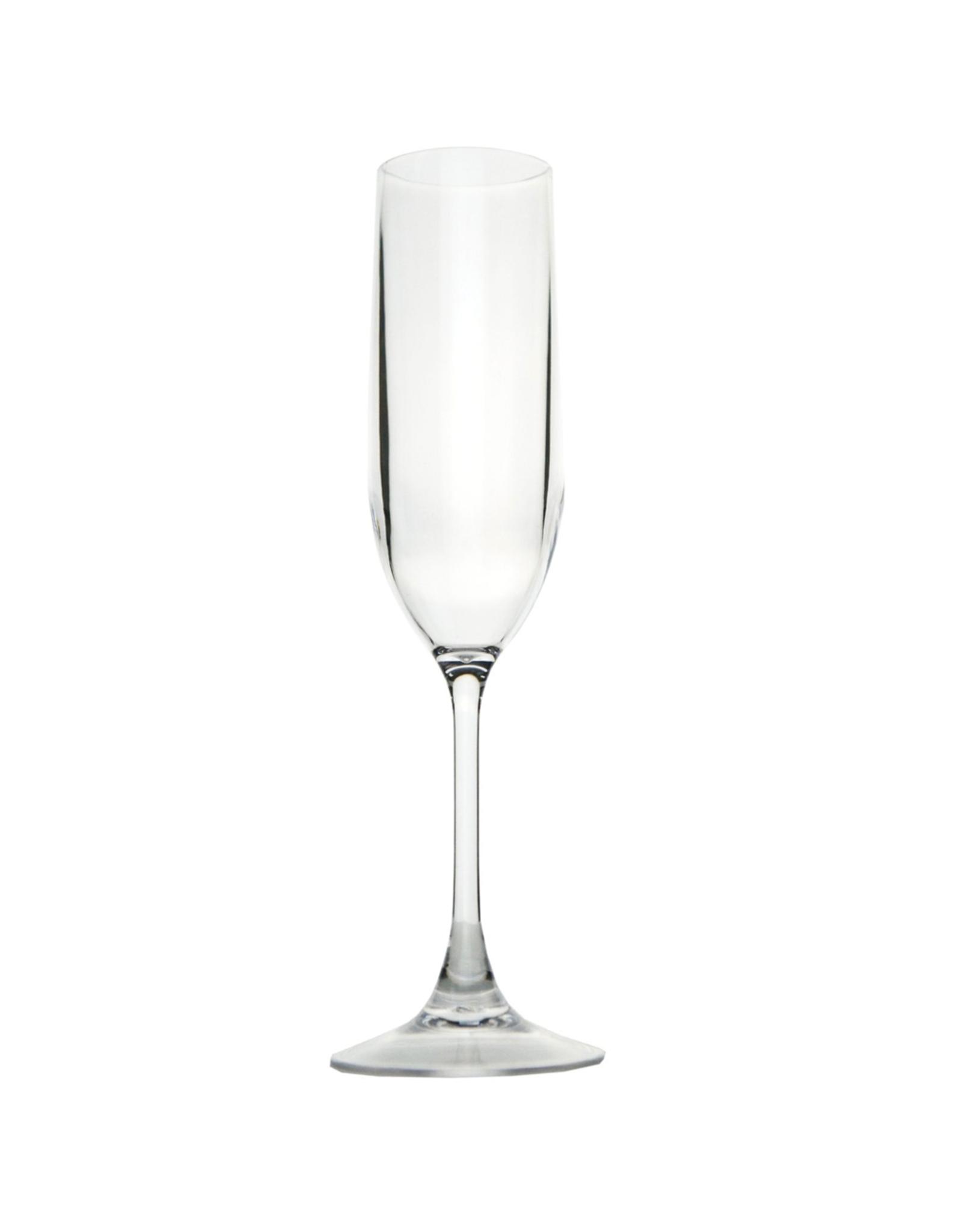 Caspari Acrylic Champagne Flute 6oz Reusable Shatter Resistant