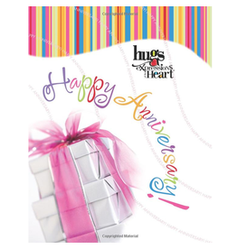Simon and Schuster Gift Book Happy Anniversary Hugs Expressions of the Heart