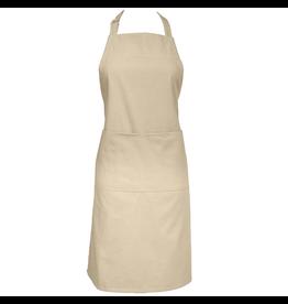 Cotton Twill Chef Apron -Flax Beige
